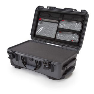 Mallette de protection avec mousse 935 de Nanuk, graphite (EA1)
