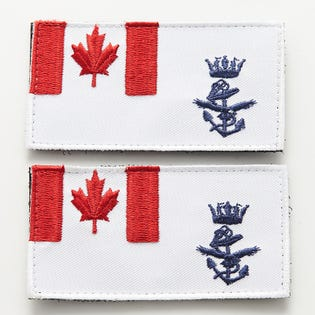 NAVY 2 Pack Velcro Sleeve Patch