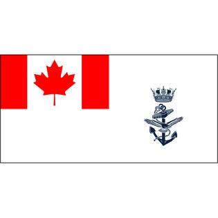 Drapeau Marine Royal Canadienne 36x60 po