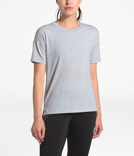 The North Face Women's Workout T-Shirt Grey