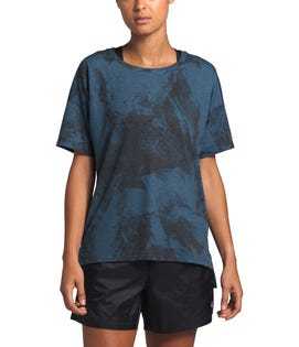 The North Face Women's Workout T-Shirt Blue