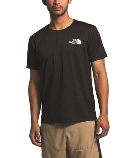The North Face Men's Short Sleeve Reaxion T-Shirt Black