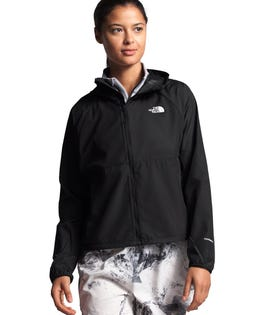 The North Face Women's Flyweight Hoodie Black