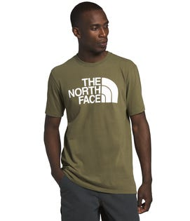 The North Face Men's Short Sleeve Half Dome T-Shirt Green