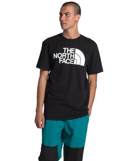 The North Face Men's Short Sleeve Half Dome T-Shirt Black