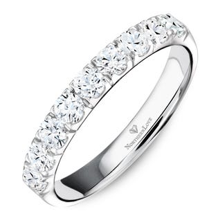 NORTHERN LOVE Platinum 3.5 mm Women's Wedding Band Total Carat Weight 0.70ct (EA3)
