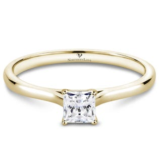 Northern Love Bague de fiançailles à diamant solitaire 0.25 ct (EA3)