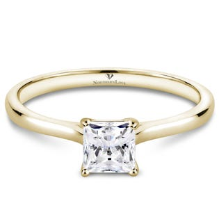 Northern Love Bague de fiançailles à diamant solitaire 0.50 ct (EA3)