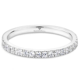 Northern Love Platinum 0.28ct Wedding Band (EA3)