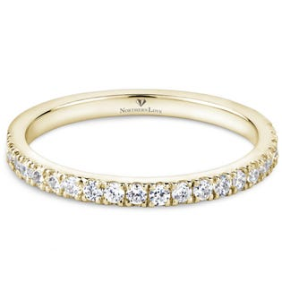 Northern Love Yellow Gold 0.28 ct Wedding Band (EA3)