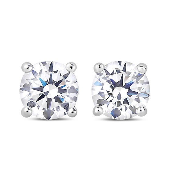 NORTHERN LOVE White Gold Diamond Earrings Total Carat Weight 1.00ct (EA3)