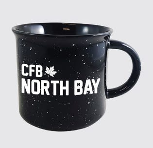 Tasse en céramique de la CFB North Bay