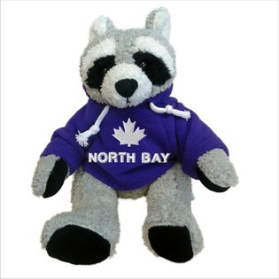North Bay Raccoon Plush 10""