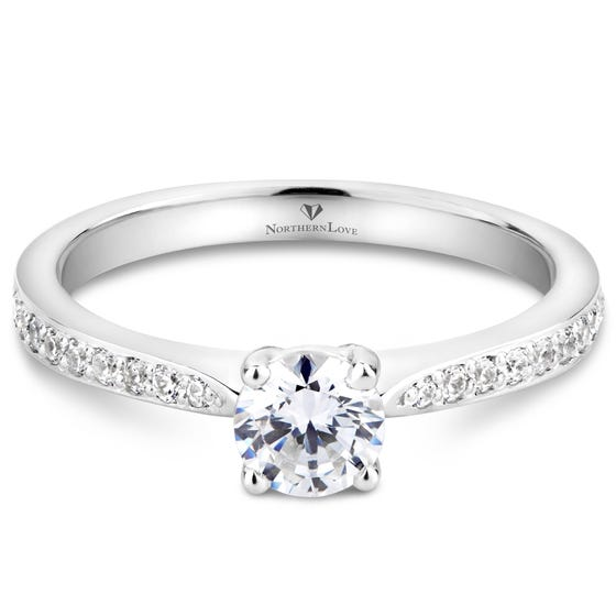 Northern Love 0.50ct Solitaire Diamond Engagement Ring