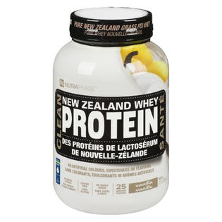 Nutraphase NZ Whey Protein - Vanilla 25 Servings
