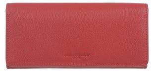 Club Rochelier Full Leather Ladies Clutch Wallet W/ Gusset CL11065-3-RED (EA1)