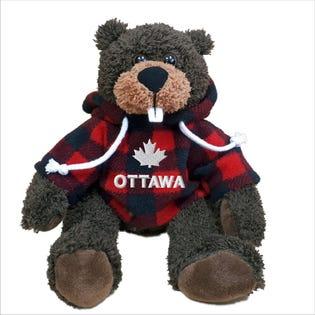 Castor Ottawa en peluche de 10 po