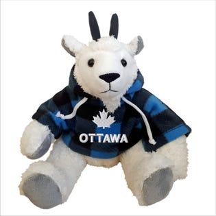 Chèvre Ottawa en peluche de 10 po