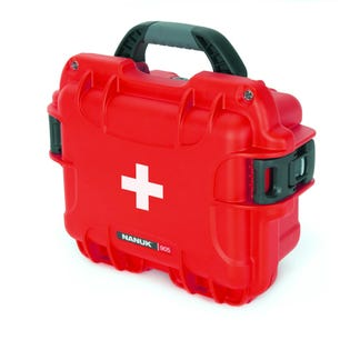 Mallette de premiers soins vide avec logo 905 de Nanuk, rouge (EA1)