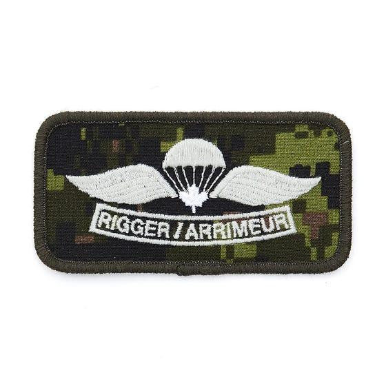 Parachutist Rigger Badge