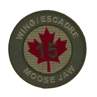 15 Wing Moose Jaw Badge