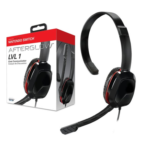 PDP LVL 1 Headset Switch Black