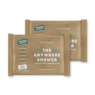 Mountain Town The Anywhere Shower Peppermint 30cm x 60cm 1pk