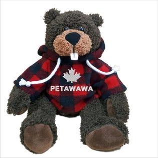 Castor Petawawa en peluche de 10 po