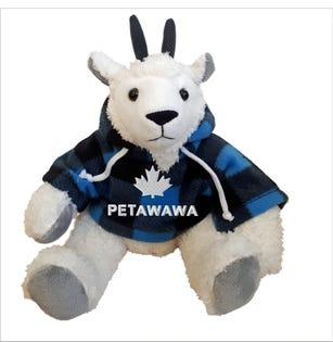"Petawawa Goat Plush 10"""