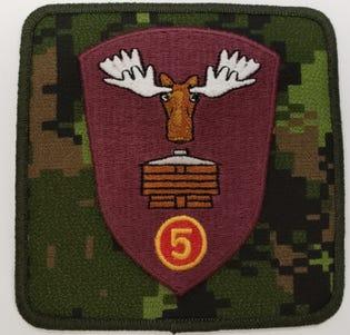 5 CDSG Badge
