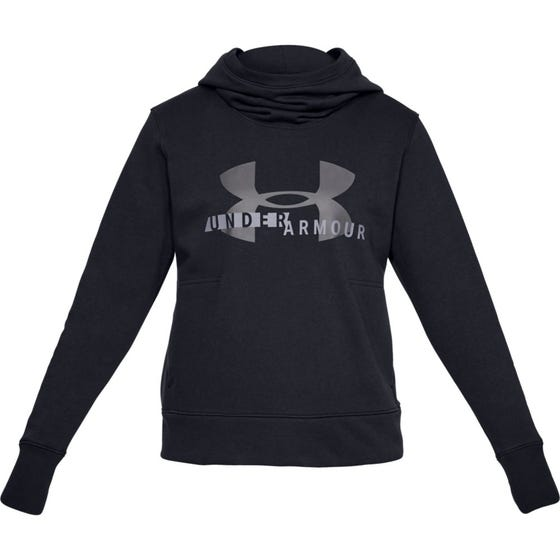 UNDER ARMOUR Women's Sportstyle Logo Hoodie