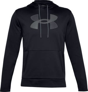 Under Armour Men's Fleece Big Logo Hoodie Black
