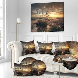 Designart Sea & Shore Photography on Canvas PT18389-40-30  (EA1)