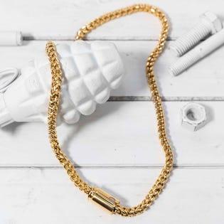 Brass & Unity Quattro Necklace Gold (EA1)