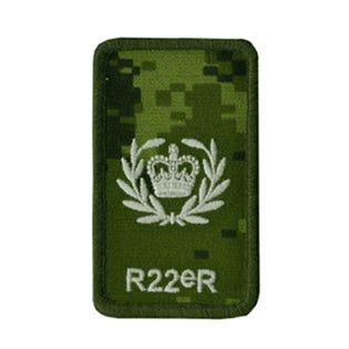 R22eR Master warrant officer Rank Patch