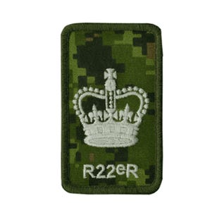 R22eR Warrant Officer Rank Patch