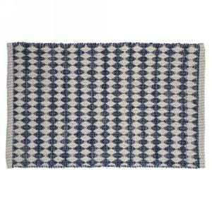 Carpet in Blue Natural Motif