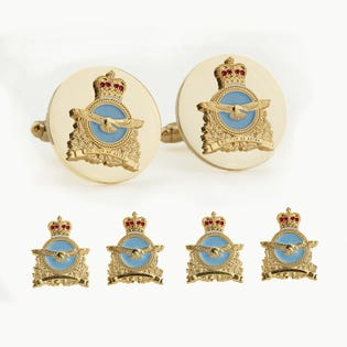 RCAF Insignia Stud and Cufflinks