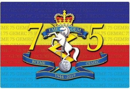 RCEME 75th Sticker