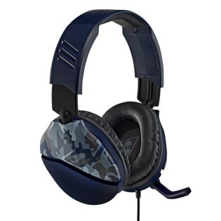 Turtle Beach Recon 70 Blue Camo Over-Ear Gaming Headset