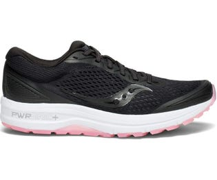 Saucony Women's Clarion Running Shoe Black/Pink