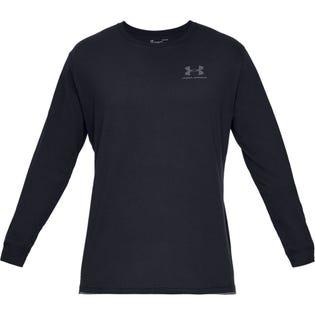 UA Sportstyle - Haut à manches longues, poitrine gauche pour homme
