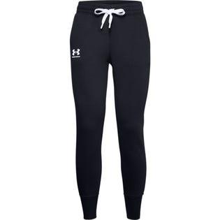 Under Armour Pantalon de jogging noir Rival Fleece pour femme