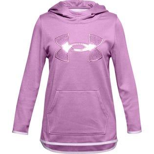Under Armour Kids Big Logo Hoodie Pink