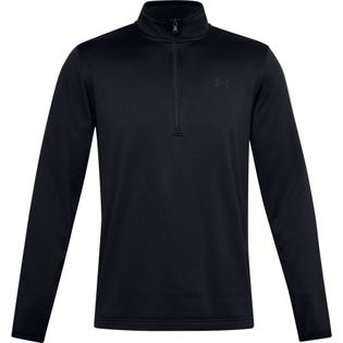 Under Armour Men's Fleece 1/2 Zip-Up Black