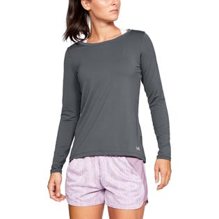 Under Armour Women's HG Long Sleeve Crew