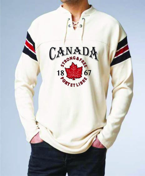 Strong and Free M Hockey Sweater