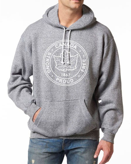 Strong and Free M Fleece Hoodie