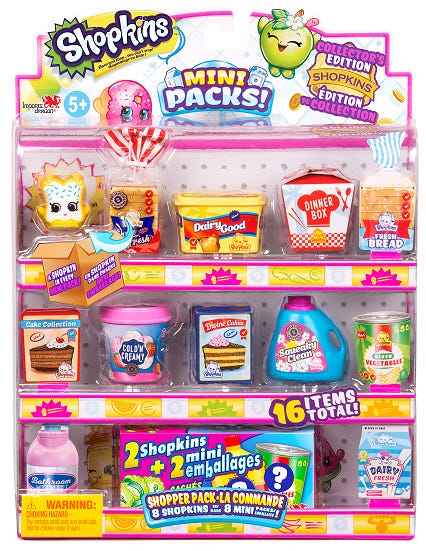 SHOPKINS S10 Shopper