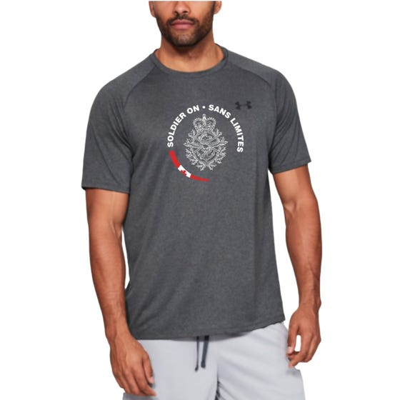 Soldier On Under Armour Men's UA Tech T-Shirt